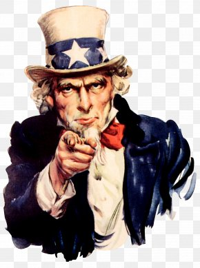 Pointing Finger - Samuel Wilson United States Uncle Sam I Want You PNG