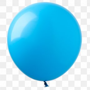 Aqua-blue - Balloon Blue Price Party PNG