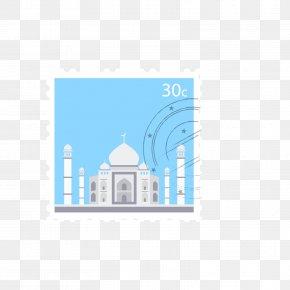 Taj Mahal Stamps - Taj Mahal Postage Stamp PNG