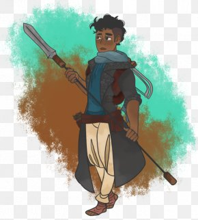 Spear - Cartoon Spear Character PNG