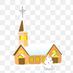 Church Building - Church How To Draw Everything Clip Art PNG