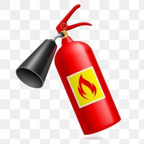 Cartoon Fire Extinguisher Material - Fire Extinguisher Cartoon Clip Art PNG