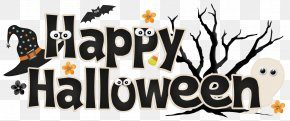 Cute October Cliparts - Halloween October 31 Trick-or-treating Party Clip Art PNG