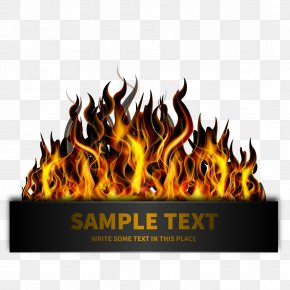 Template Download Template On Fire - Light Flame Fire PNG