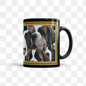 Coffee Cup Countdown 5 Days - Dog Breed Non-sporting Group Leash Snout PNG