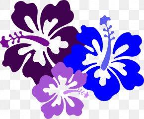 Hawaiian Images Free - Hawaiian Hibiscus Alyogyne Huegelii Drawing Clip Art PNG