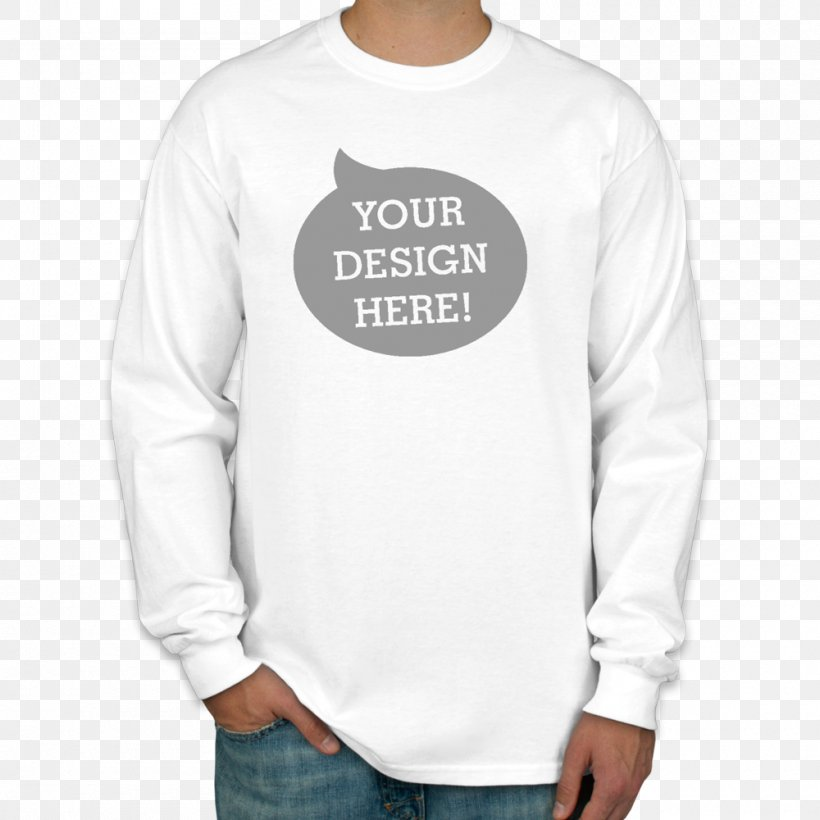Long-sleeved T-shirt Long-sleeved T-shirt Printed T-shirt Hanes, PNG, 1000x1000px, Sleeve, All Over Print, Brand, Clothing, Collar Download Free