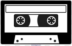 Cassette - Compact Cassette Drawing Clip Art PNG