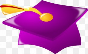 University Cap - Square Academic Cap Graduation Ceremony Hat Clip Art PNG