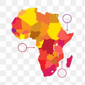 Color Africa - Sub-Saharan Africa Russia 2018 FIFA World Cup African French Knowledge PNG
