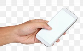 Holding A Cell Phone Gesture - Mobile Phone Android Application Package Google Images PNG