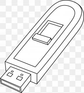 USB - USB Flash Drives Computer Data Storage Flash Memory Clip Art PNG