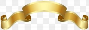 Banner Gold Deco Clip Art Image - Banner Clip Art PNG