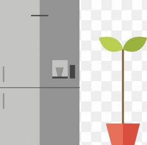 Vector Creative Home Design Icon Refrigerator - Icon PNG