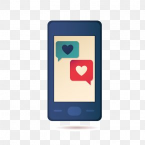 Phone - Social Media Communication Love Social Network PNG