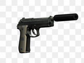 Weapon - Trigger Beretta M9 Firearm Gun Barrel Silencer PNG