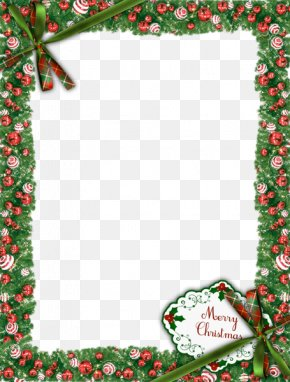 Christmas Frame Transparent Image - Christmas Picture Frame PNG