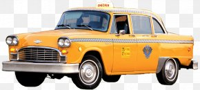 Yellow Taxi - Taxi Yellow Cab Checker Motors Corporation PNG