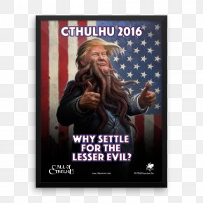 United States - The Call Of Cthulhu United States US Presidential Election 2016 PNG
