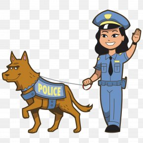 Police And Police Dogs - Police Officer Royalty-free Clip Art PNG
