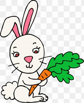 Rabbit Cliparts - Easter Bunny Rabbit Hare Clip Art PNG