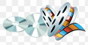 VHS Material Vector CD - Professional Audiovisual Industry Icon PNG