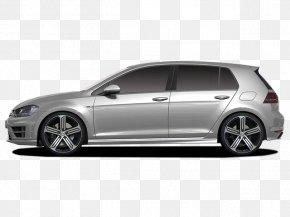 Volkswagen Golf R - 2015 Volkswagen Golf R Volkswagen Golf Mk5 Compact Car PNG