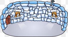 Fence - Club Penguin Island Igloo YouTube PNG