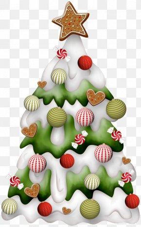 Christmas Tree - Christmas Day Clip Art Christmas Tree Santa Claus Christmas Card PNG