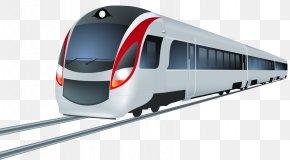 Train - Train Rail Transport Rapid Transit Clip Art: Transportation PNG