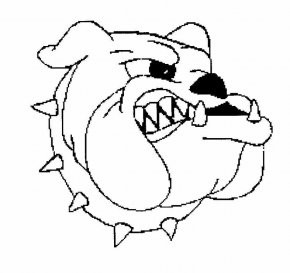 Animated Bulldog Pictures - Bulldog Drawing Cartoon Clip Art PNG