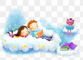 Kids To School Background - Cartoon Download Wallpaper PNG