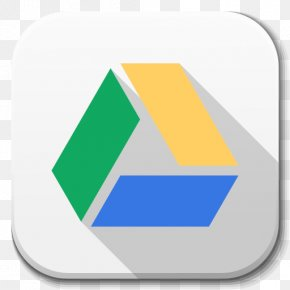 Apps Google Drive B - Triangle Brand Diagram PNG