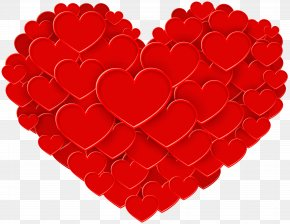 Red Heart PNG Clip Art - Valentine's Day Heart Gift Greeting Card Clip Art PNG