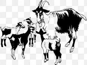 American Lamancha Goat Clip Art Boer Goat Black Bengal Goat Illustration PNG