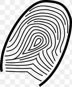 Clue Cliparts - Fingerprint Clip Art PNG