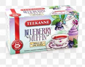 Tea - Muffin Tea Bag Fruit Blueberry PNG