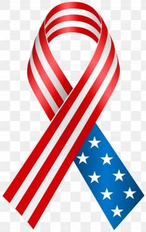 USA Ribbon Clip Art Image - United States Of America Flag Of The United States Clip Art PNG