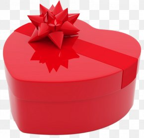 Valentines Day Heart Gift Box PNG Clipart Picture - Valentine's Day Gift Flower Bouquet Heart PNG