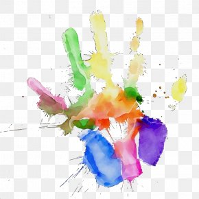 Child Art Watercolor Paint - Watercolor Drawing PNG