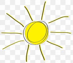 Sun Clip Art - Yellow Organism Area Clip Art PNG