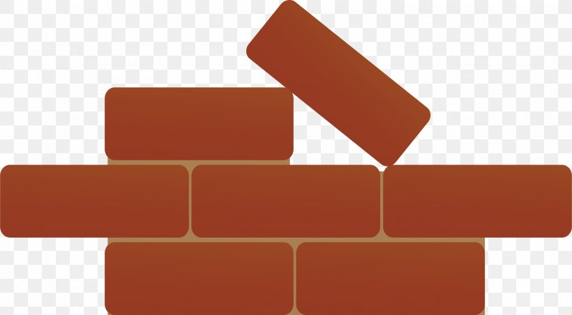 Brick Icon, PNG, 2684x1482px, Brick, Architectural Engineering, Bricklayer, Material, Orange Download Free