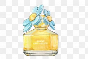 Perfume - Perfume Chanel Watercolor Painting Drawing Illustration PNG
