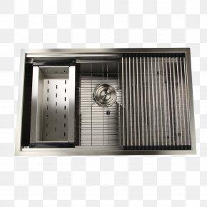 Sink - Sink Nantucket Stainless Steel Drain Brushed Metal PNG