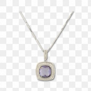 Crystal Necklace - Locket Necklace Crystal Pendant PNG