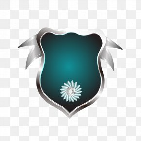 Spider Edge Marks The Border - Logo Teal Wallpaper PNG