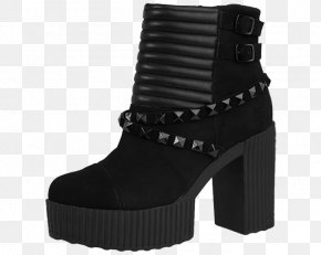 Boot - Boot High-heeled Shoe T.U.K. Brothel Creeper PNG