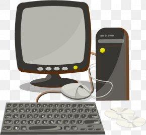Vector Desktop Computers - Computer Keyboard Computer Mouse Desktop Computer PNG