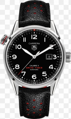 Watch - Eco-Drive Watch TAG Heuer Carrera Calibre 5 Citizen Holdings PNG