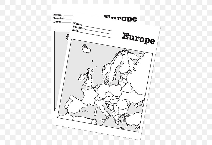 Europe Blank Map World Map United States, PNG, 760x560px ...